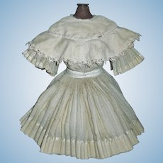 Antique French or German Bebe Dress