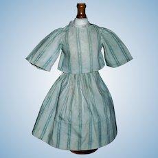Early Made 2 Piece doll Dress, China, Cloth
