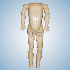 Fabulous Huge Chunky Antique Kestner Doll Body