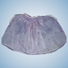 Pretty Early Vintage Sheer Purple Doll Chemise