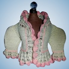 Sweet Antique Doll Sweater
