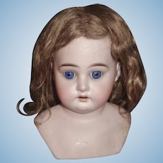 Nice Antique Mohair Doll Wig
