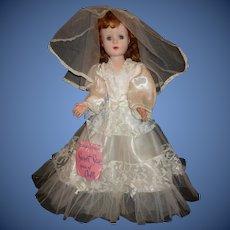 American Character Sweet Sue Bride Doll, Original Wrist Tag