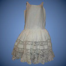 Fabulous Antique Full Petticoat for a Large Doll