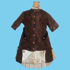 Nice 2 Pc Bebe Doll Dress, French / German
