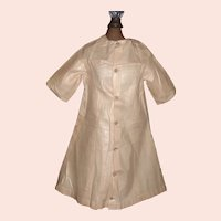 Early Pink Polished Cotton Doll Dress