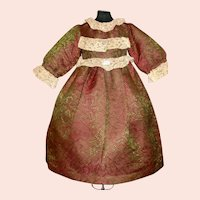 Lovely Antique Doll Dress, French or German