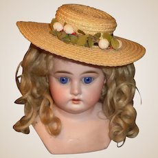 Nice Vintage Doll Straw Hat