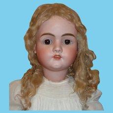 "Fabulous Huge 34"" Antique Kley Hahn Walkure Child Doll"