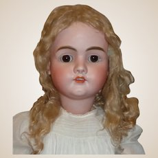 "Fabulous Huge 34"" Antique Kley Hahn Walkure Child Doll"