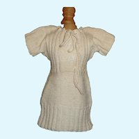 Early Made Wool Knit Fashion / Lady Doll Dress