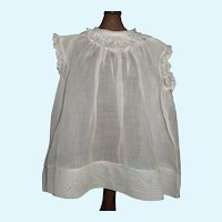 Nice Sheer Chemise Style Doll Dress, Feather Stitching