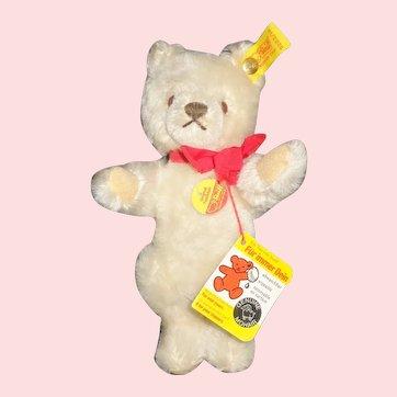 """7 """" Steiff Teddy Bear, Button and Tags"""