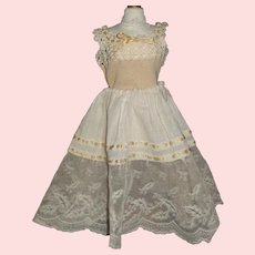 Lovely Antique Undergarment Set for a French Fashion / Lady Doll