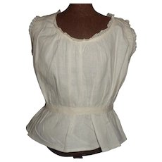 Nice Antique Cotton Fashion / Lady Under Blouse