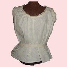 Nice Antique Cotton Fashion / Lady Under Blouse