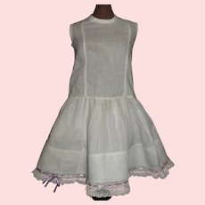 Pretty Petticoat for a French or German Bebe
