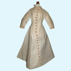 Antique Dress / Wrap for a French Fashion Doll