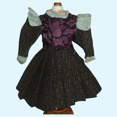 Antique Doll Dress for a French or German Bebe TLC