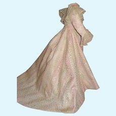 Wonderful Pink French Fashion Doll Dress