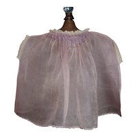 Sweet Sheer Purple Organdy Doll Dress, Fabulous Smocking