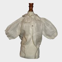 Nice Antique White Doll Blouse