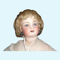 Blonde Antique Mohair Fashion / Small Boy Doll Wig