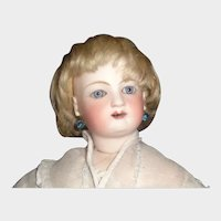 Blonde Antique Mohair Fashion / Small Boy Doll Wig