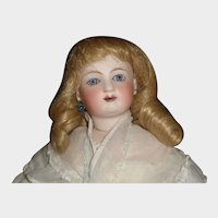 Vintage Blonde Human Hair Fashion Doll Wig, 8