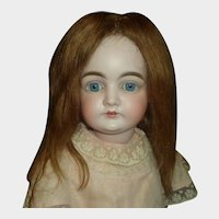 Nice Antique Human Hair Doll Wig