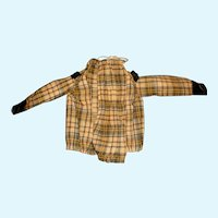 Small Fashion Early Cotton Weave Doll Blouse