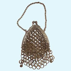 Antique Metal Small Doll Purse for a Fashion or any Lady Doll