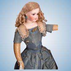 """Magnificent & Rare, All Original Antique 21"""" Jumeau Portrait Fashion Doll."""