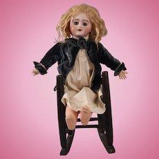 "Beautiful 16"" French Bisque SFBJ Depose 6 Doll, Circa 1898"