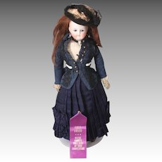 """Lovely Antique 17"""" German Fashion Lady Doll"""