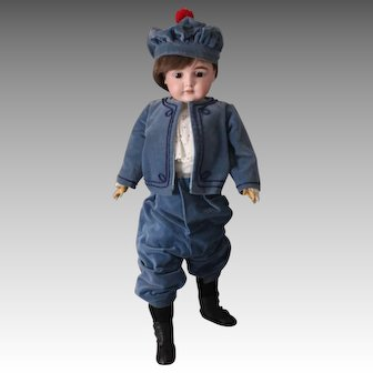 "Rare Antique Kestner 26"" Bisque Boy Child Doll, Marked #167 German"