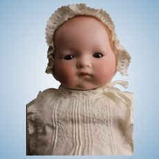 """Beautiful Antique 17"""" Bisque Dream Baby Doll Am Germany."""
