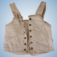 Antique French Corset for Dolls