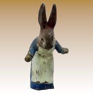 Antique Vienna Bronze miniature rabbit