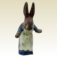 Antique Vienna Bronze miniature rabbit