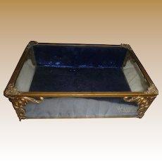 Original VOLUPTE gilt glass display case