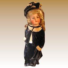 """Simon & Halbig K*R antique bisque doll 26 1/2"""""""