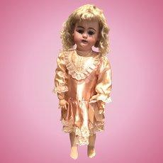 "Antique Simon & Halbig 1079 bisque doll 24"""