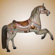 E. Joy Morris antique Carousel Horse Prancer