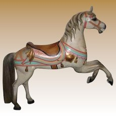 E. Joy Morris antique Carousel Horse Prancer