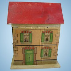 Important F A O Schwarz 1890 S Mystery House In Rare Small Size