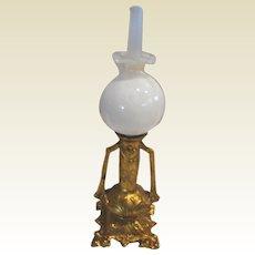 Antique German doll house miniature doll house decorative Ormolu Lamp