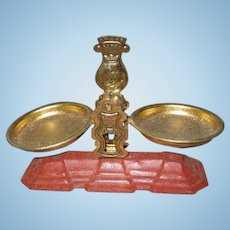 Antique German shop store tin miniature Scale