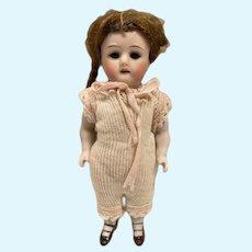 """Antique German Kestner 130 all bisque Doll 6"""""""
