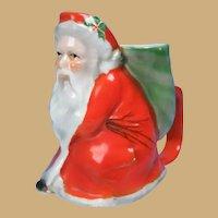 Antique Royal Bayreuth Porcelain Santa Claus Figural Creamer Pitcher